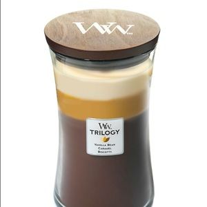 Woodwick Trilogy Candle / cafe sweets